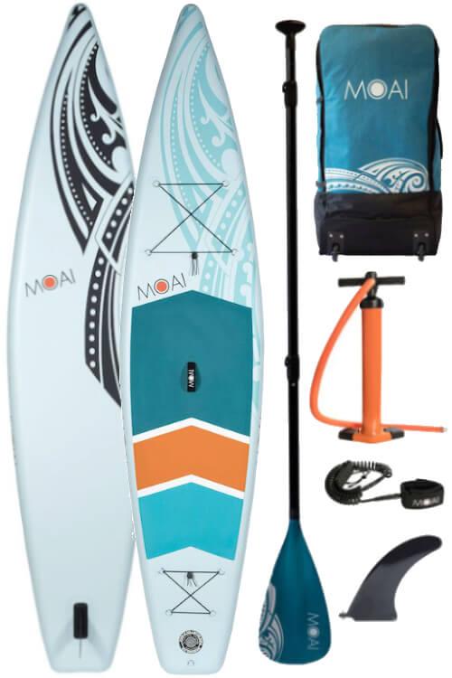 "Moai Touring 12'6"" Inflatable SUP Board 2021"